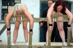 female slave camp